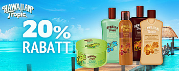 Hawaiian Tropic - 20% rabatt!