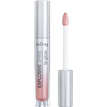 3.5 ml - No. 082 Pink Sparkle - IsaDora Explosive Shine Lip Gloss