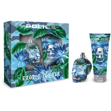 Police To Be Exotic Jungle For Man - Gift Set